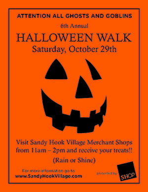 Sandy Hook 2016 Halloween Walk