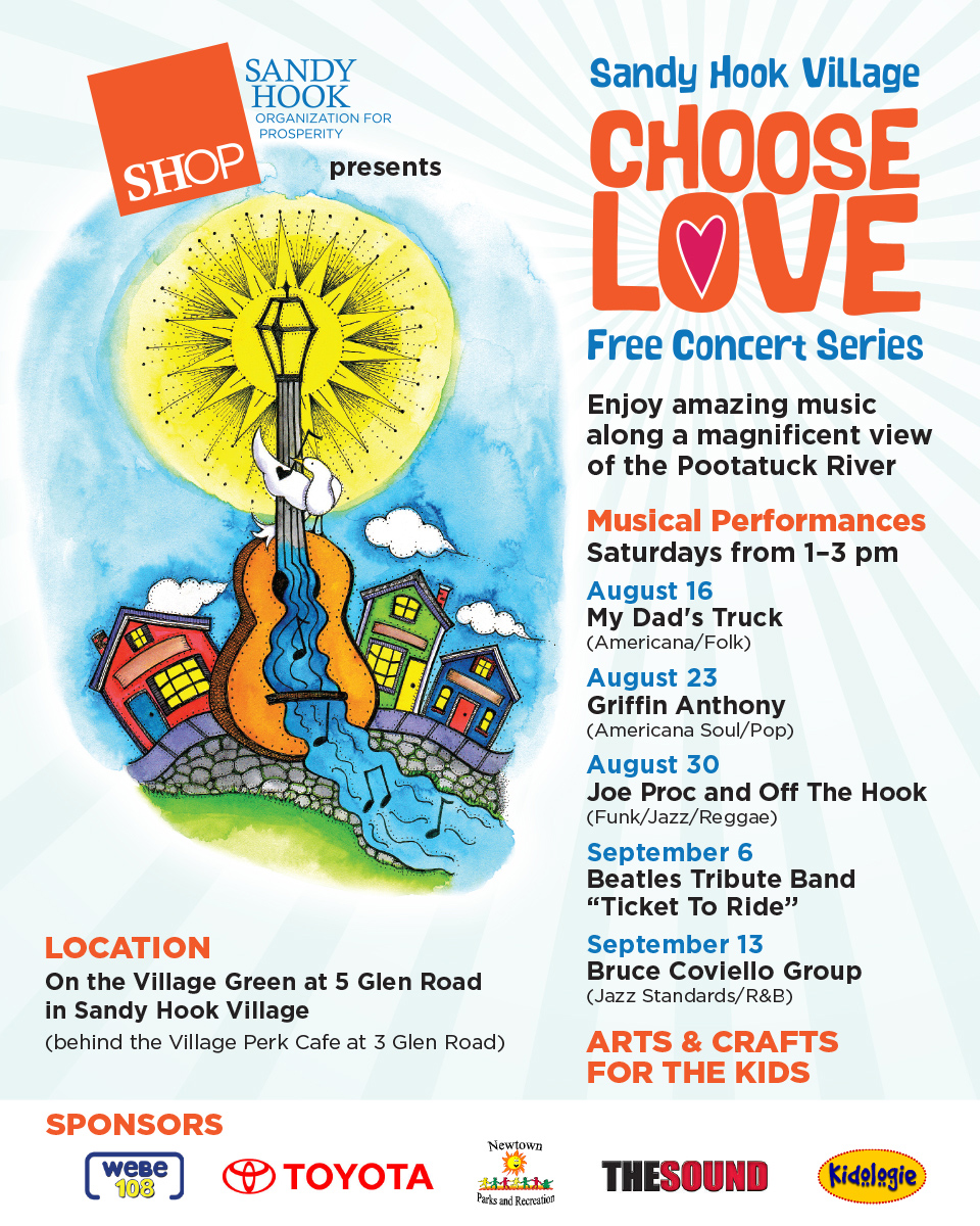 Sandy Hook Village Choose Love Concert Series